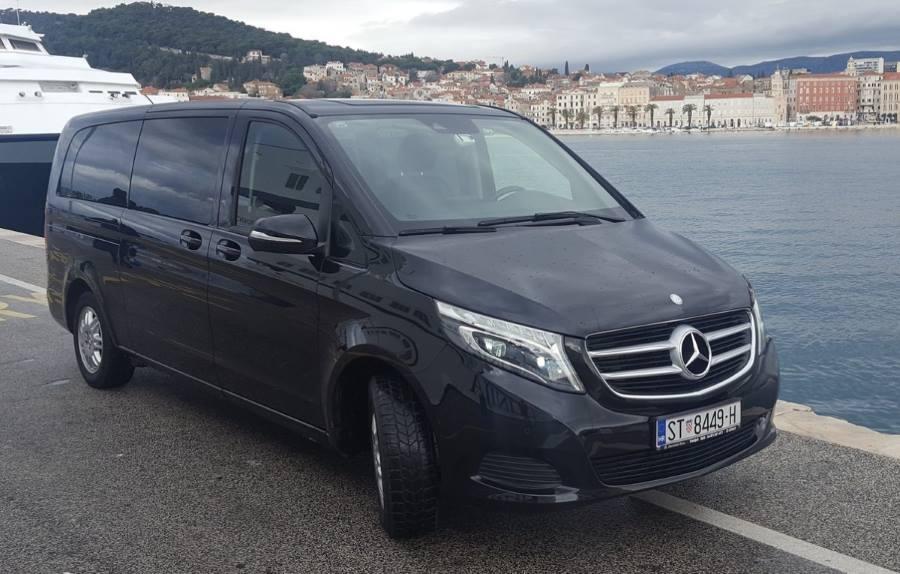 Split airport private transfers